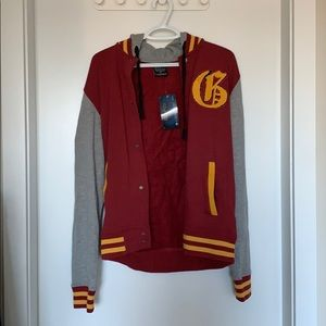 Harry Potter Gryffindor Varsity Jacket